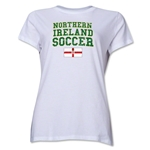 Northern Ireland Women's Soccer T-Shirt (White)