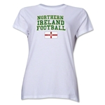Northern Ireland Women's Football T-Shirt (White)