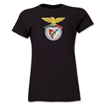 Benfica Women's Soccer T-Shirt (Black)
