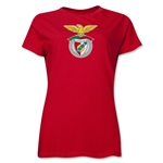 Benfica Women's Soccer T-Shirt (Red)