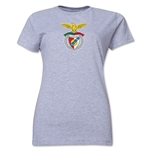 Benfica Women's Soccer T-Shirt (Grey)