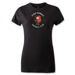 Stade Rennais FC Women's T-Shirt (Black)