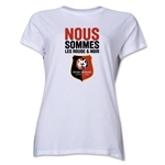 Stade Rennais FC We Are Women's T-Shirt (White)