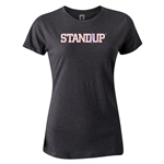 StandUp Logo Women's T-Shirt (Dark Gray)