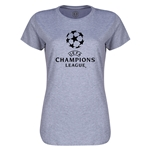 UEFA Champions League Women's T-Shirt (Gray)
