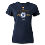 Chelsea 2013 UEL Final Women's T-Shirt (Navy)
