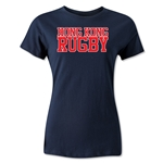 Hong Kong Women's Supporter Rugby T-Shirt (Navy)