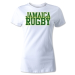 Jamiaca Women's Supporter Rugby T-Shirt (White)