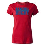 Namibia Women's Supporter Rugby T-Shirt (Red)
