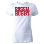 Russia Women's Supporter Rugby T-Shirt (White)