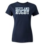 Scotland Women's Supporter Rugby T-Shirt (Navy)