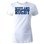 Scotland Women's Supporter Rugby T-Shirt (White)
