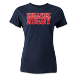 Singapore Women's Supporter Rugby T-Shirt (Navy)