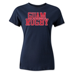 Guam Women's Supporter Rugby T-Shirt (Navy)