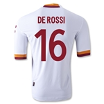 AS Roma 12/13 DE ROSSI Authentic Away Soccer Jersey
