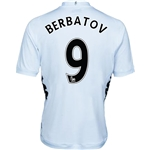 Fulham 12/13 BERBATOV Authentic Home Soccer Jersey