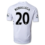 Fulham 12/13 RODALLEGA Authentic Home Soccer Jersey