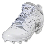 Warrior Adonis Lacrosse Cleats (White/Silver)
