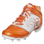 Warrior Adonis Lacrosse Cleats (White/Orange)
