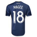 LA Galaxy 2013 MAGEE Authentic Secondary Soccer Jersey