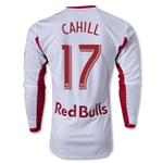 New York Red Bulls 2014 CAHILL Jersey de Futbol Primario Autentico ML