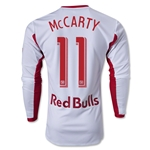 New York Red Bulls 2013 MCCARTY LS Authentic Primary Soccer Jersey