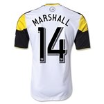 Columbus Crew 2013 MARSHALL Authentic Secondary Soccer Jersey