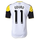 Columbus Crew 2013 ODURO Authentic Secondary Soccer Jersey