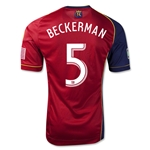 Real Salt Lake 2013 BECKERMAN Authentic Primary Soccer Jersey