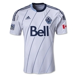 Vancouver Whitecaps FC 2013 Authentic Primary Soccer Jersey