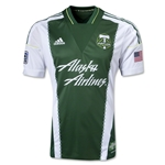 Portland Timbers 2013 Authentic Primary Soccer Jersey