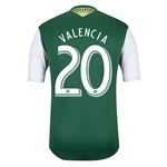 Portland Timbers 2014 VALENCIA Authentic Primary Soccer Jersey