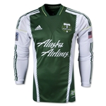 Portland Timbers 2013 Authentic LS Primary Soccer Jersey