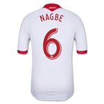 Portland Timbers 2013 NAGBE Authentic Secondary Soccer Jersey
