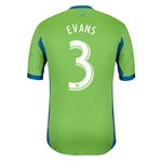 Seattle Sounders FC 2013 EVANS Authentic Primary Soccer Jersey