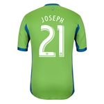Seattle Sounders 2014 JOSEPH Authentic Primary Soccer Jersey