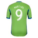 Seattle Sounders FC 2013 MARTINS Authentic Primary Soccer Jersey