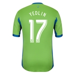 Seattle Sounders 2014 YEDLIN Authentic Primary Soccer Jersey