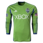 Seattle Sounders FC Authentic LS Primary Soccer Jersey