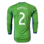 Seattle Sounders FC 2014 DEMPSEY Authentic LS Primary Soccer Jersey
