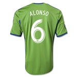 Seattle Sounders FC 2014 ALONSO Primary Soccer Jersey