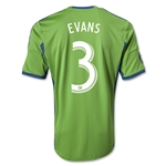 Seattle Sounders FC 2014 EVANS Primary Soccer Jersey