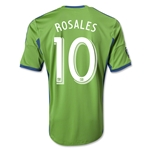 Seattle Sounders FC 2014 ROSALES Primary Soccer Jersey