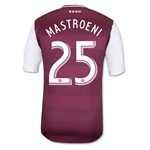 Colorado Rapids 2013 MASTROENI Authentic Primary Soccer Jersey
