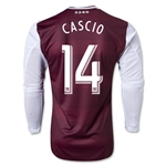 Colorado Rapids 2013 CASCIO LS Authentic Primary Soccer Jersey