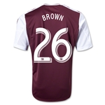 Colorado Rapids 2013 BROWN Primary Soccer Jersey