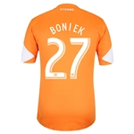 Houston Dynamo 2014 BONIEK Authentic Primary Soccer Jersey