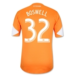 Houston Dynamo 2013 BOSWELL Authentic Primary Soccer Jersey