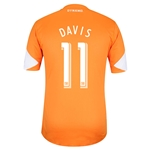Houston Dynamo 2014 DAVIS Authentic Primary Soccer Jersey
