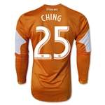 Houston Dynamo 2013 CHING LS Authentic Primary Soccer Jersey